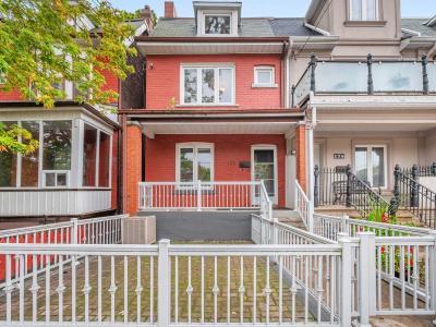 House For Sale 172 Bellwoods Ave, M6J2P4, Trinity-Bellwoods, Toronto