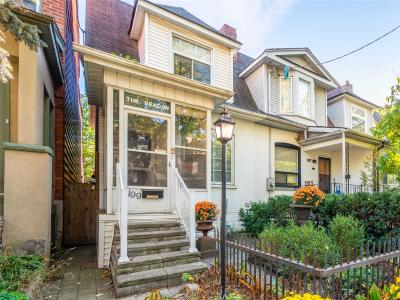 House For Sale 199 Bain Ave, M4K1E9, North Riverdale, Toronto