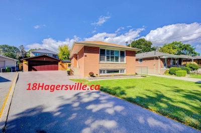 House For Sale 18 Hagersville Crt, M9C4A3, Eringate-Centennial-West Deane, Toronto